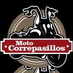 logotipo pagina web moto correpasillos