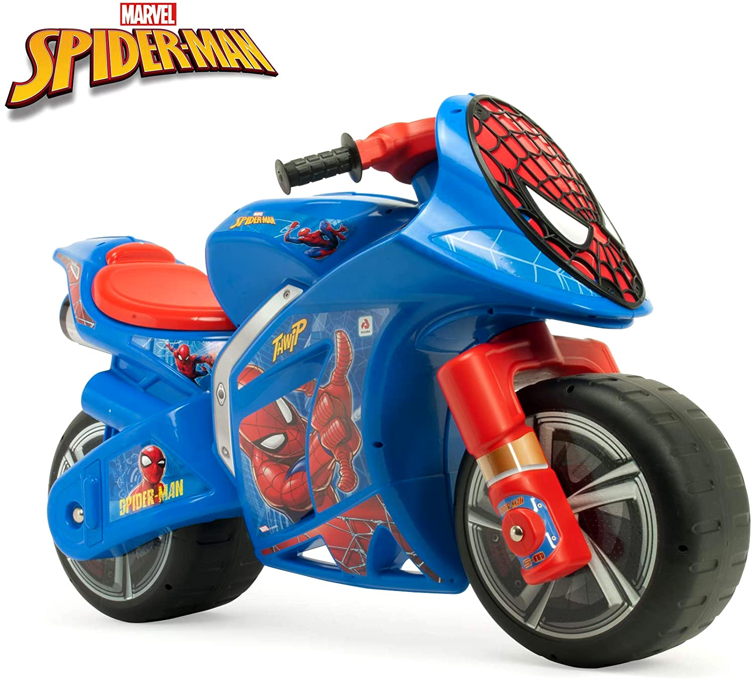 moto correpasillos spiderman XL